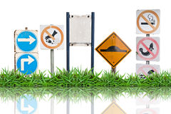 Traffic label sign Royalty Free Stock Images