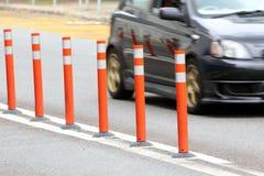 Traffic Lane Control Stick Royalty Free Stock Images