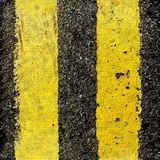 Traffic lane markings Stock Image