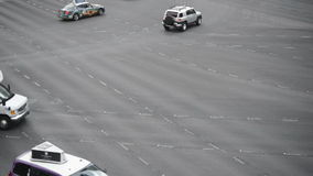 Traffic in Las Vegas stock video
