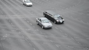 Traffic in Las Vegas stock video footage