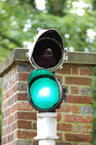 Traffic-light. Green Traffic-light royalty free stock photos