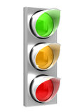 The traffic light Stock Photos