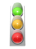 The traffic light Stock Photo
