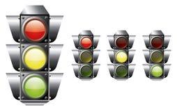 Traffic light. A set of traffic light  file Stock Image