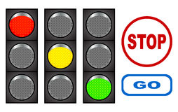 Traffic light. Stock Images