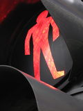 Traffic Light. Closeup traffic red light and stop Stock Photography