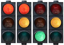 Free Traffic Light Royalty Free Stock Images - 2501799