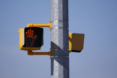 Traffic Light. No Walking Traffic Light Stock Photos