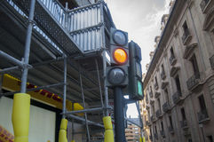 A traffic light Stock Photography