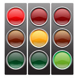 Traffic light . Royalty Free Stock Photos