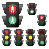 Traffic Light Collection 1 Royalty Free Stock Photo