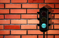 Traffic-light concept Stock Photography