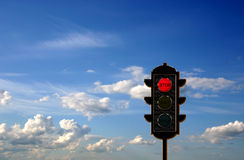 Traffic-light concept Royalty Free Stock Image