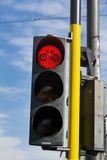 Traffic light for cyclists Royalty Free Stock Image