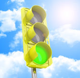The traffic light Royalty Free Stock Photo