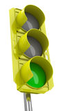The traffic light Royalty Free Stock Image
