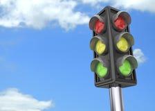 Traffic Light - 3D Stock Photos