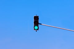 Traffic Light. Equipment sky view stock photo