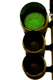 Traffic light green Royalty Free Stock Photography