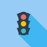 Traffic light icon. royalty free illustration
