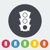 Traffic light icon. Stock Image