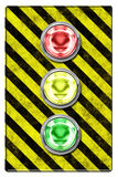 Traffic light (illustration) Stock Photography