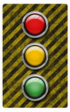 Traffic light (illustration) Royalty Free Stock Photography