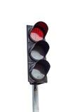 Traffic light isolated Royalty Free Stock Image