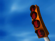 Traffic light love Royalty Free Stock Photos
