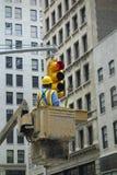 Traffic Light Maintenance Royalty Free Stock Images