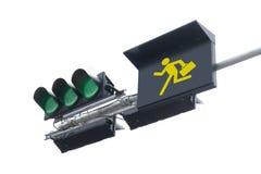 Traffic Light  move Royalty Free Stock Photo