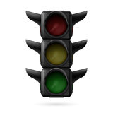 Traffic light off Stock Images