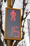 Traffic light for pedestrians Royalty Free Stock Photo