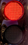 The traffic light at the pit lane. Sochi, Russia -9 November 2014 : Formula One, Russian Grand Prix,  Sochi autodrom , 16 stage Royalty Free Stock Photography
