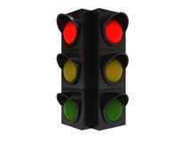 Traffic light red Royalty Free Stock Photo