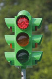 Traffic Light red Stock Photography