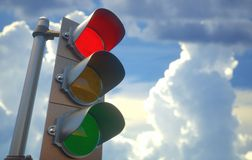 Traffic Light Red royalty free stock photography