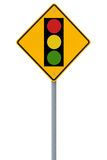 Traffic Light Road Sign Royalty Free Stock Images