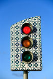 Traffic light sao luis of maranhao brazil Stock Photo