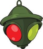 Traffic light. Semaphore. Cartoon Royalty Free Stock Photo