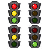 Traffic light. Signals of traffic. Royalty Free Stock Photography