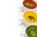 Traffic light soups Royalty Free Stock Photos