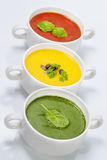 Traffic light soups Royalty Free Stock Image