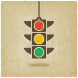 Traffic light symbol Royalty Free Stock Image