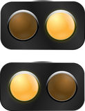 Traffic light - under construction Royalty Free Stock Images