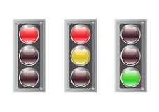 Traffic light vector Stock Photo