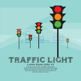 Traffic Light. Stock Photo
