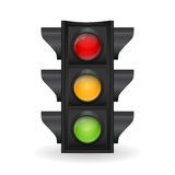 Traffic Light Vector Illustration Stock Photography