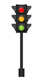 Traffic Light Vector Illustration Stock Image